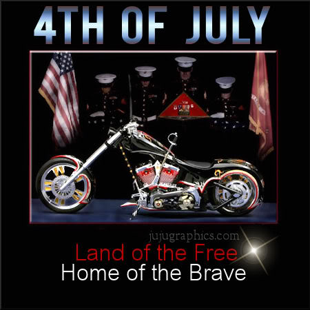 4th of July land of the free home of the brave