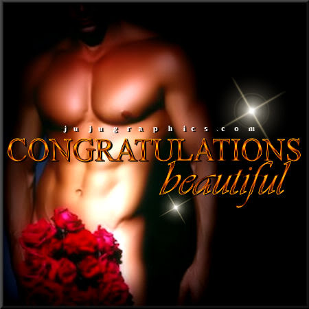 Congratulations beautiful