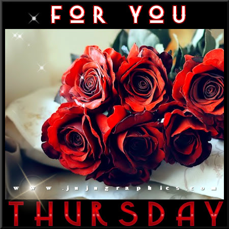 For you Thursday