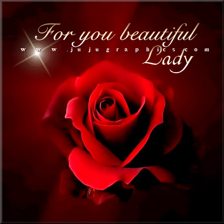 For you beautiful lady