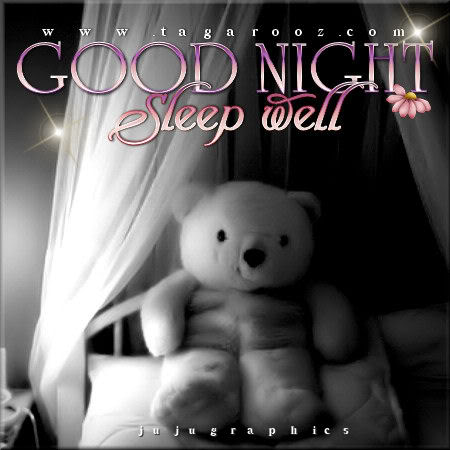 Good night sleep well