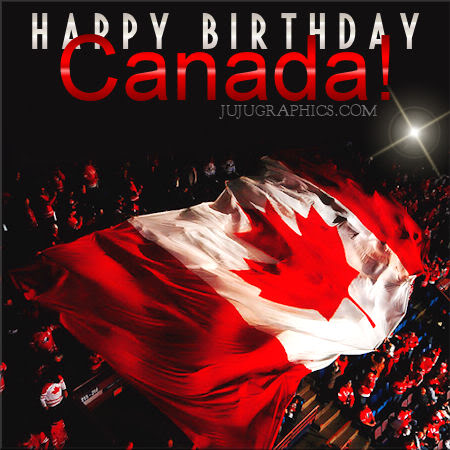 Happy birthday Canada 3 Copy