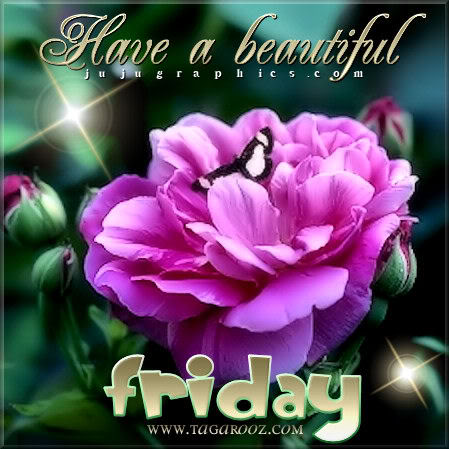 Have a beautiful Friday 10