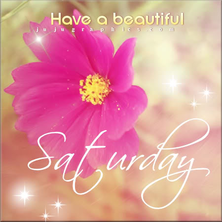 Have a beautiful Saturday 9