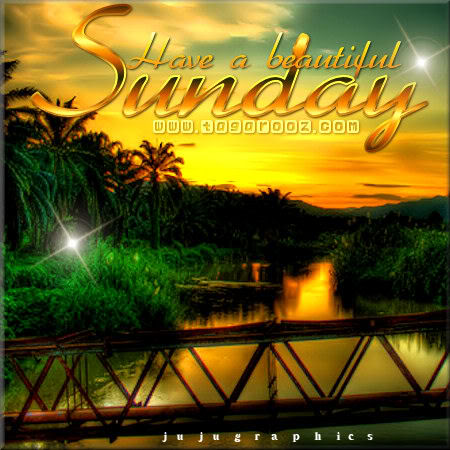 Have a beautiful Sunday 1