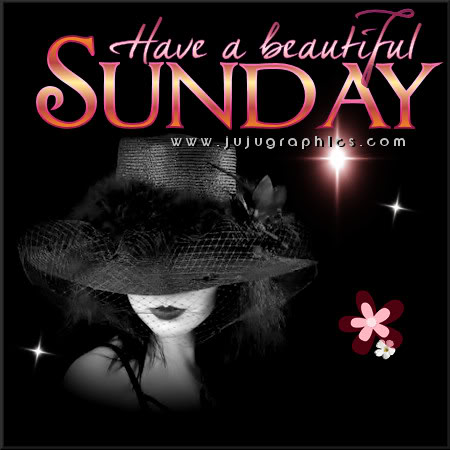 Have a beautiful Sunday 7