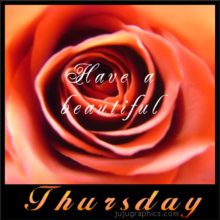 Have a beautiful Thursday 5
