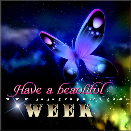 Have a beautiful week ...