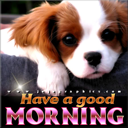Have a good morning 8
