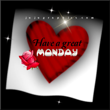 Have a great Monday 29