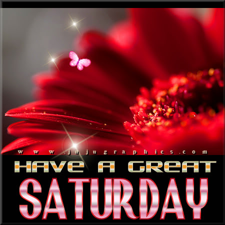 Have a great Saturday 50