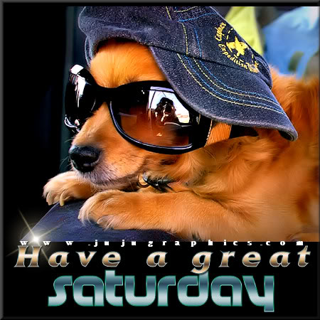 Have a great Saturday 82