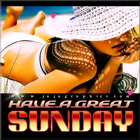 Have a great Sunday 25