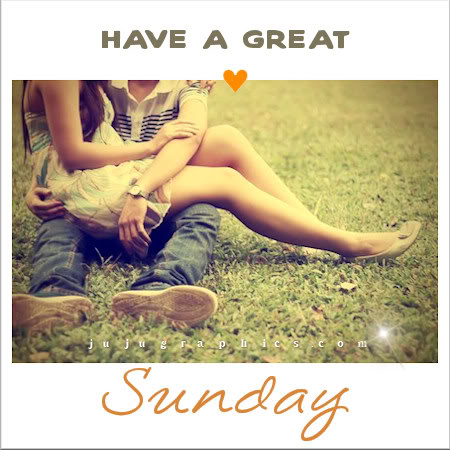 Have a great Sunday 27