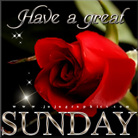 Have a great Sunday 76