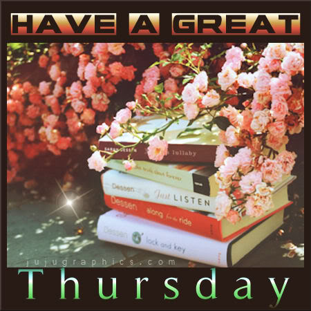 Have a great Thursday 14