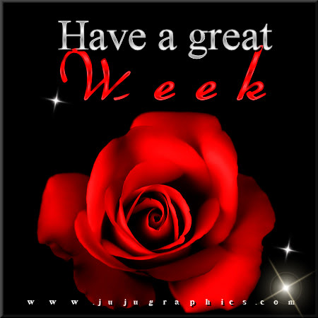 Have a great week 31