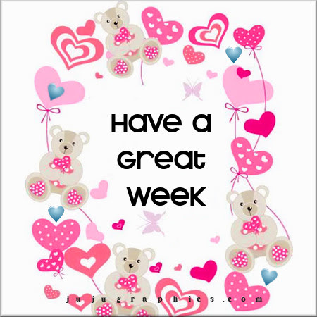 Have a great week 85