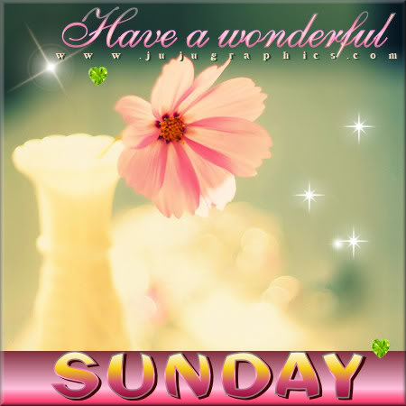 Have a wonderful Sunday 13