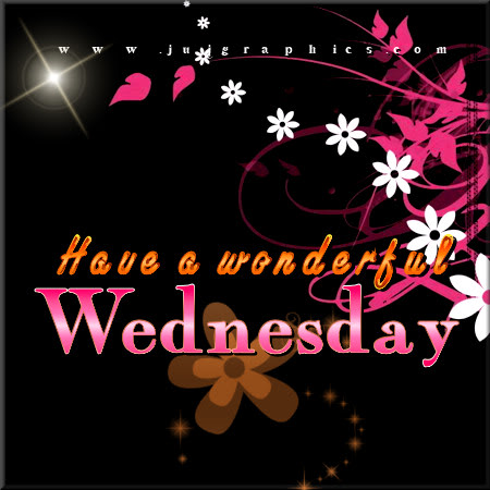 Have a wonderful Wednesday 4 1