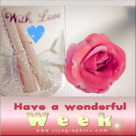 Have a wonderful week 16