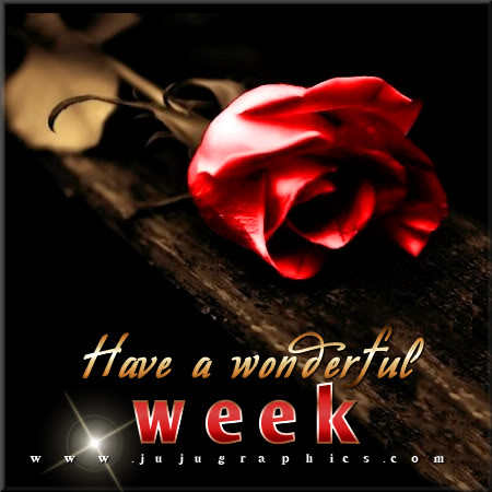 Have a wonderful week 17