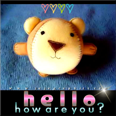 Hello how are you 5