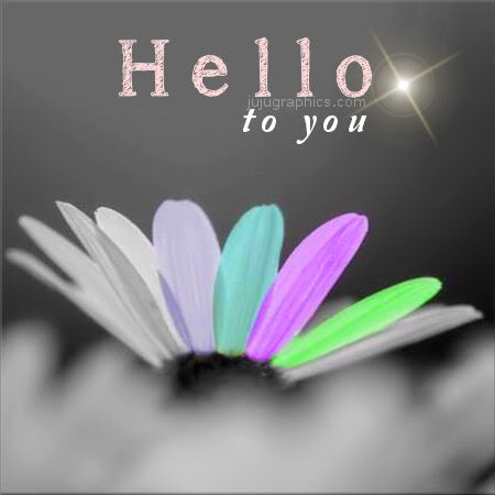 Hello to you 2