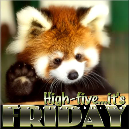 High five its Friday