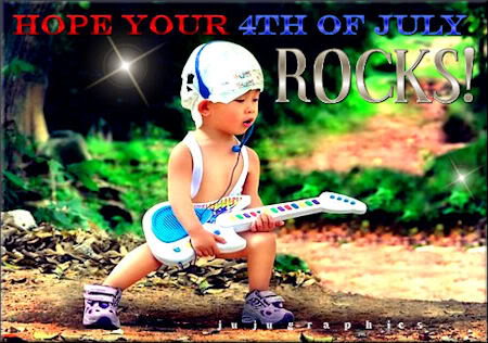 Hope your 4th of July rocks