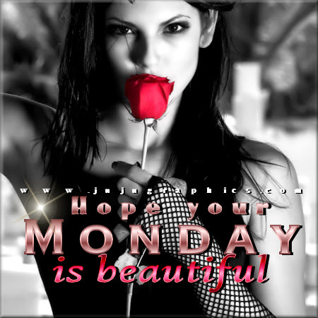 Hope your Monday is beautiful