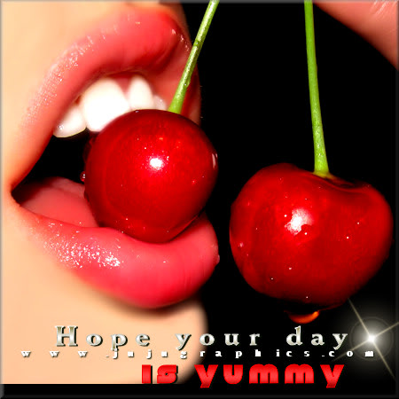 Hope your day is yummy