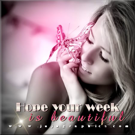 Hope your week is beautiful