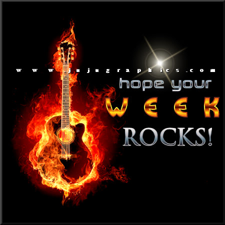 Hope your week rocks 4