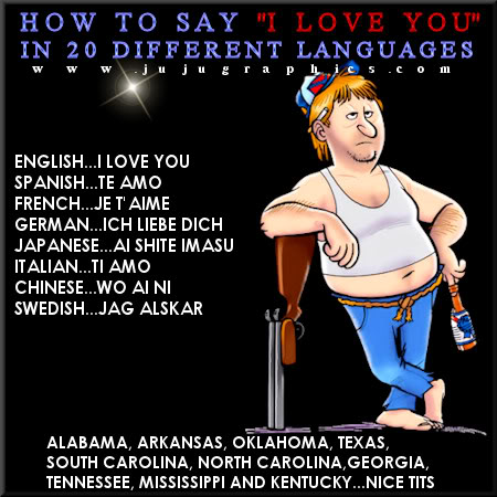 How to say I love you in 20 different languages