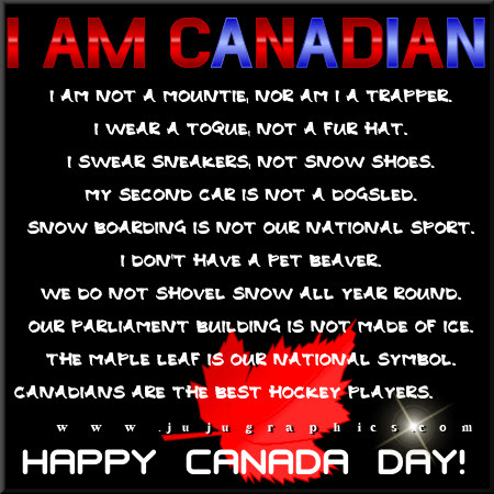 I am Canadian Copy