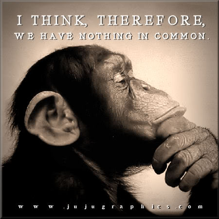 I think therefore we have nothing in common - Graphics ...