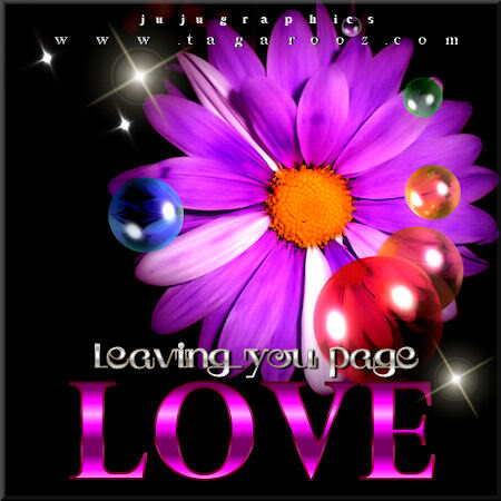 Leaving your page love 5