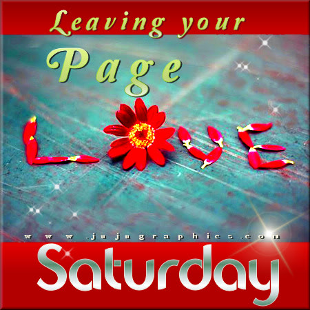 Leaving your page love Saturday