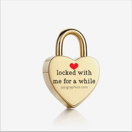Locked with me for a while