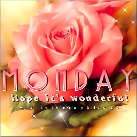 Monday hope its wonderful 2