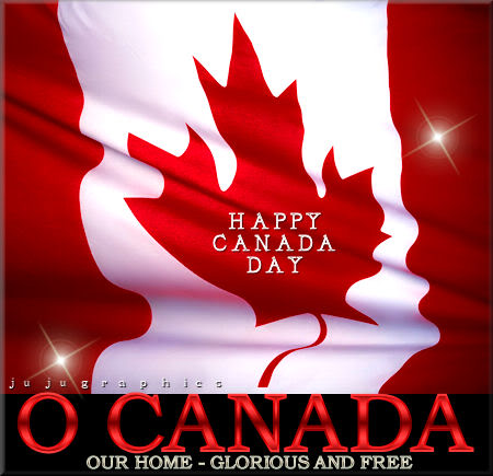 O Canada Happy Canada Day Copy