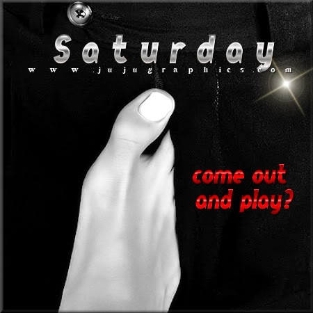 Saturday come out and play