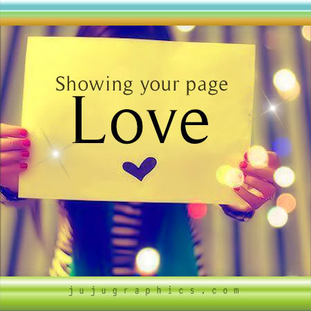 Showing your page love 3