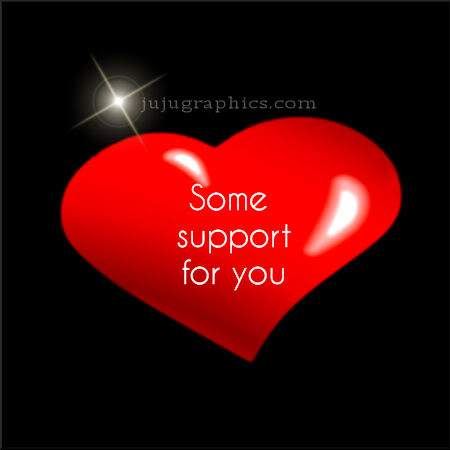 Some support for you