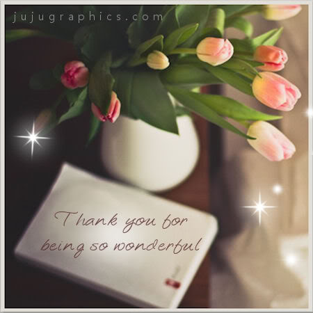Thank you for being so wonderful 2