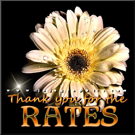 Thank you for the rates 10