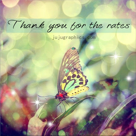Thank you for the rates