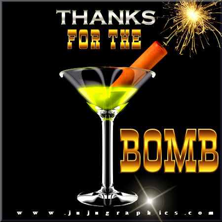 Thanks for the bomb 2