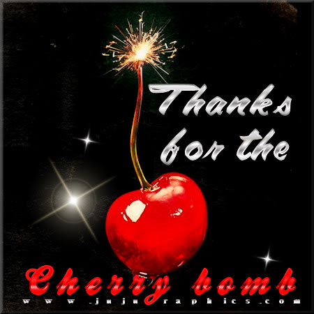 Thanks for the cherry bomb